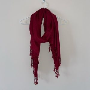 Accessories - Pashmina - Red